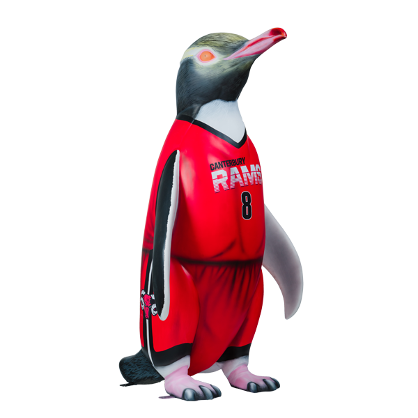 Swish the Canterbury Penguin