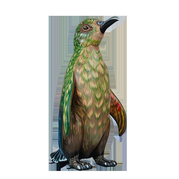 Penguin Disguised as a Kea
